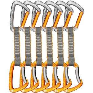 סט 6 ראנרים באורך 11סמ עם רצועת ניילון וטבעות קי-לוק FLINT EXPRESS KIT PA
