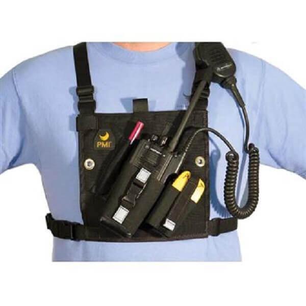 וסט קדמי למכשיר קשר ואביזרי חילוץ, מיוצר עי PMI