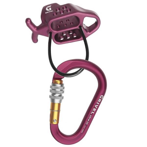 קיט מכשיר אבטחה גייד לזוג חבלים 7.3-11ממ MASTER PRO כולל טבעת K6N