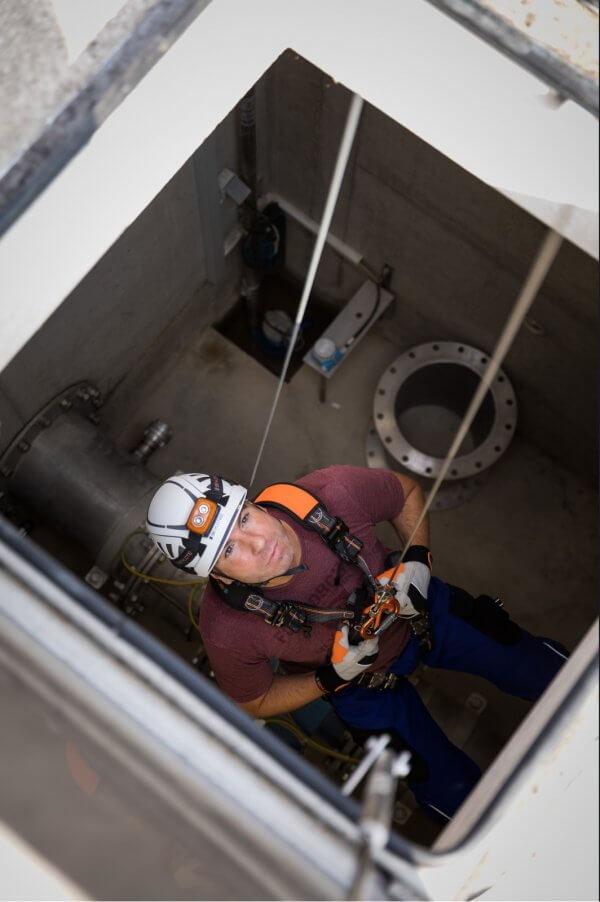 INCEPTOR GRX קסדה לעבודה בגובה וחילוץ, SKYLOTEC