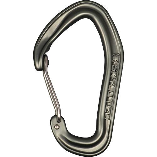 טבעת D ללא נעילה ווייר-לוק FALANX WIRE אפורה