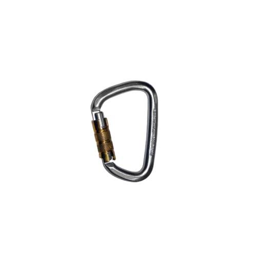 טבעת D מפלדה טריפל-לוק 45KN