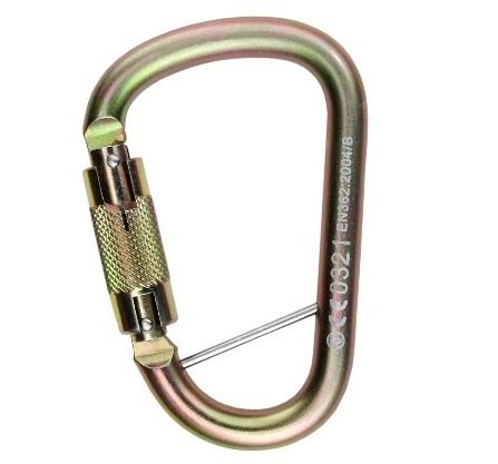 טבעת D פלדה 35KN טוויסטלוק מפתח 27ממ