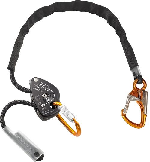 חבל מיקום ותמיכה 2מ LORY X כולל טבעת מסוג ATTACK